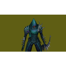 Poison Archer - 3D Warrior Character 3D Model