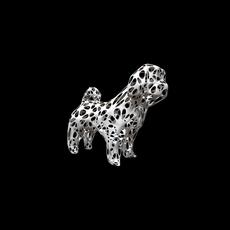 dog shih tzu figure 2 3D Model