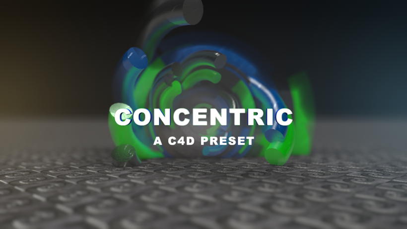 CONCENTRIC Intro Creator for Cinema4d