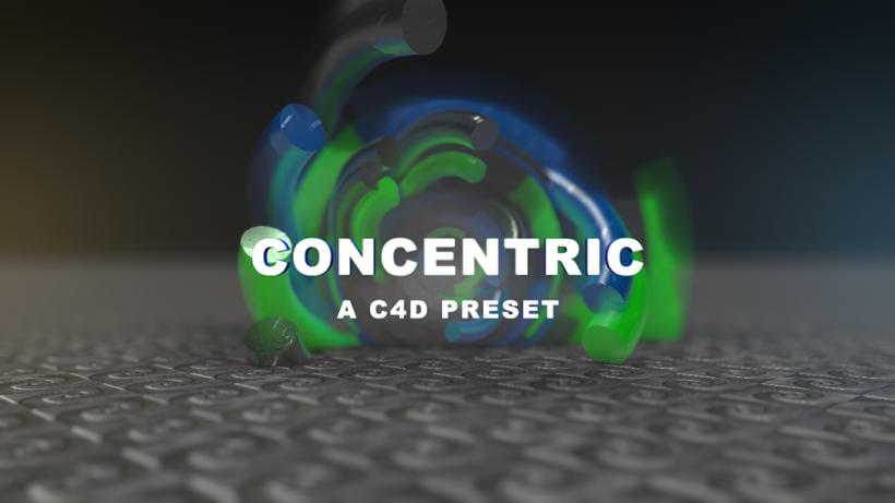 CONCENTRIC Intro Creator for Cinema4d