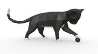 cat figure 3 3D Model