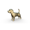 beagle dog figure 3D Model