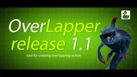 Overlapper release 1.1.0 for Maya (maya script)
