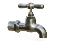 Water tap metal 3D Model