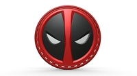 Deadpool stripe 3D Model