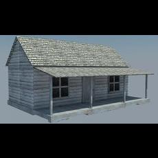Cabin 03 3D Model