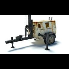 Light Generator 3D Model