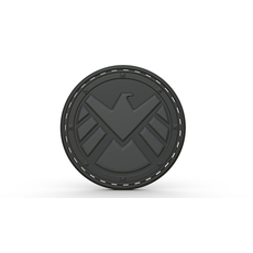 Agents of shield logo 3D Model