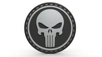 Punisher logo 3D Model