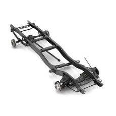 PICKUP TRUCK CHASSIS 2WD 3D Model