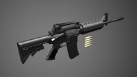 M16A4 guns 3D Model