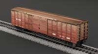 rail 3D Model