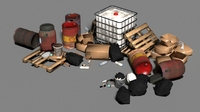 Trash 3D Model