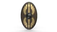 Shield 19 3D Model