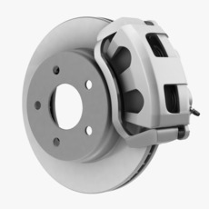 CAR DISC BRAKE - DUAL PISTON 3D Model