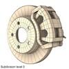 00 09 52 491 disc brake dual piston render6 4