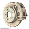 00 09 57 883 disc brake dual piston render7 4