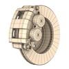 00 10 22 945 disc brake dual piston render8 4