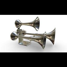 Train Horn 3D Model