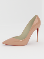 Elegant high quality pointy pumps 3D Model