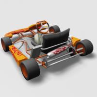 Go Kart 3D Model