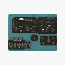 Mi-8MT Mi-17MT Right Overhead Board English 3D Model