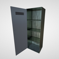 Industrial Wardrobe 3D Model