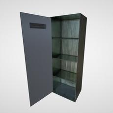 Industrial Wardrobe 3D Model