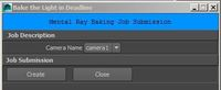 MentalRay Baking 1.1.1 for Maya (maya script)