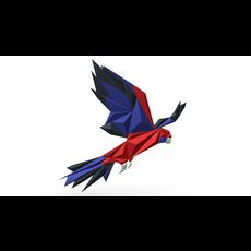 Parrot figure 3 3D Model
