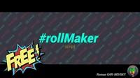 rollMaker 1.0.0 for Maya (maya script)