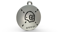 Gucci pendant 3D Model