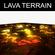 Lava Terrain 3D Model