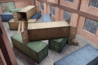 FPS Map - Warehouse 3D Model