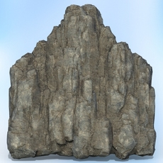 Game Ready Realistic Rock 06 3D Model