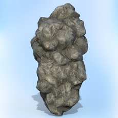 Game Ready Realistic Rock 07 3D Model