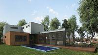 Arce Modern Residential Villa 3D Model