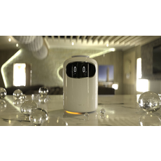 Samsung Bot Air - Bot Care - Bot Retail CES 2019 Represented 3D Model