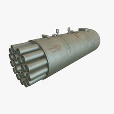 Rocket Launcher B-8V20A 3D Model