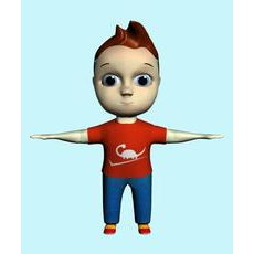 Mody 3D Character 3D Model