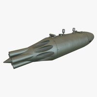 Rocket Launcher UB-16-57UM 3D Model