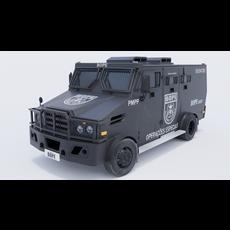 Blindado BOPE 3D Model