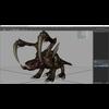 Zergling Maya Rig 3D Model