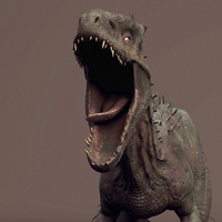 Irex - Indominus Rex Dinosaur Rig 0.0.1 for Maya