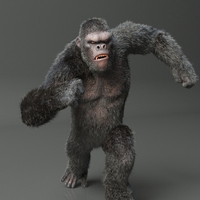 King Kong Maya Rig 0.0.1 for Maya