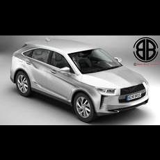 Generic SUV 2018 3D Model