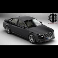 Generic Car Luxury Class 3D Model