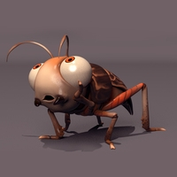 Cartoon Cricket Rig (studio license) 0.0.1 for Maya