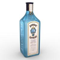Bombay Sapphire 70cl Bottle 3D Model