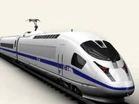 Generic High Speed Train 3D Model